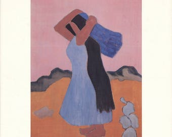 Milton Avery-Mexican Woman-1982 Poster
