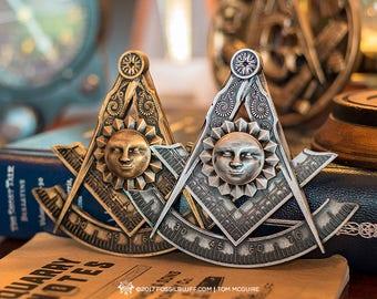 Past Master Freemason Masonic Jewel