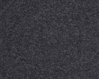 Maharam Upholstery Fabric Kvadrat Divina Melange 180 Wool 1.25 yds Charcoal Gray 460830–180 (NM)