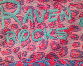 Booksacks for Raven and Mari