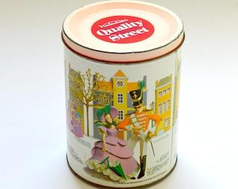 Vintage Quality Street Chocolate Tin