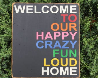 Funny Welcome Sign Etsy