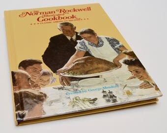 vintage Norman Rockwell Illustrated Cookbook: Classic American Recipes