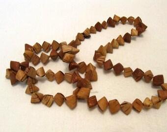 Cute Russian Birchbark Necklace Souvenir