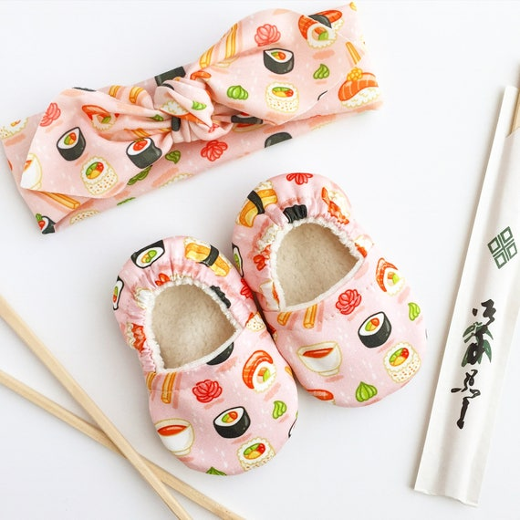 Sushi Organic Soft Sole Baby Shoes