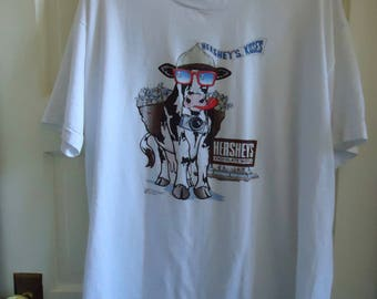 Vintage 80s HERSHEY CHOCOLATE tourist T Shirt sz L/XL
