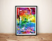 abstract art print / cont...