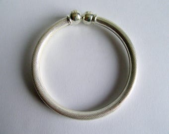 India VintageTemple Silver Bracelet.
