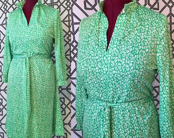 Seventies Lucky Polyester Dress