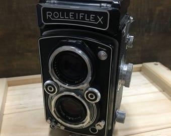Rolleiflex Automat 6x6 - Model K4A Twin Lens Reflex Vintage Film Camera