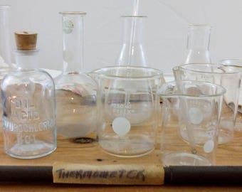 Chemistry Set / Pyrex / Vintage Pyrex / Alchemy / Halloween