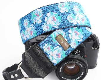 ON SALE The Harriet DSLR Camera Strap with Quick Release Buckles -- 2  inches wide