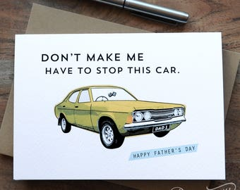 Cortina Funny Father's Day Card