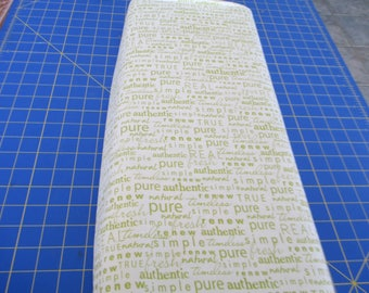 Quilting Weight Cotton Authentic Fabric designed by Sweetwater for Moda and reprinted 1 yard