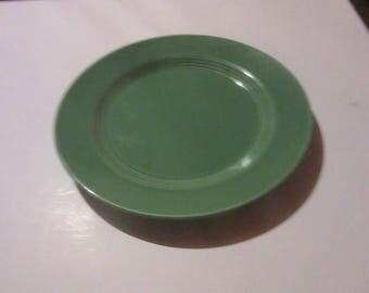 Harlequin fiesta homer laughlin reissue 10 inch dinner plate 1979