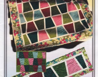 Sassy Tumblers, Erin Underwood, DIY Quilt, Table Runner, and Placemat Pattern