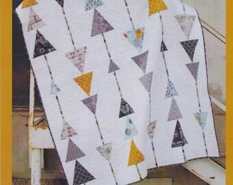 Sergeant Pepper Quilt Pattern, Abbey Lane Quilts, DIY Quilt Pattern