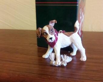 Little Heirloom Treasures Jack Russel Terrier Dog Ornament - MIB