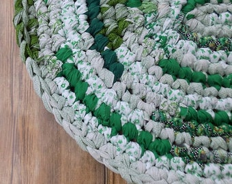 Braided Rag Rug Etsy