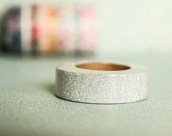 Masking tape silver 15mm x 10m 1 roll