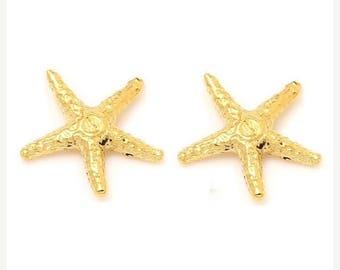 ON SALE STAR Fish Petite Stud Earrings