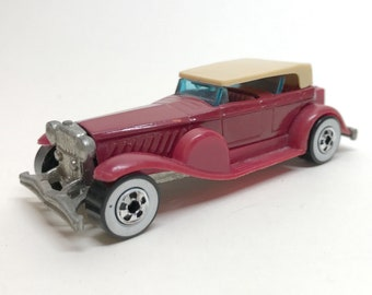 HOT WHEELS Extras Vintage '31 DOOZIE' in Magenta 1986 / 1976 Removable Top