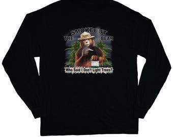 Stoner Gifts - Funny Pot T-shirt Long Sleeve