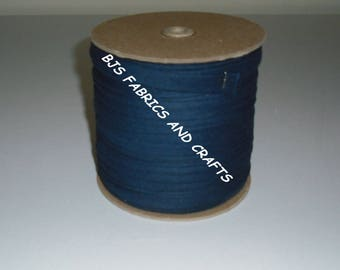 """NAVY Blue Bias Tape 1/2"""" EXTRA Wide Double Fold Bias Tape US Made 12 Yards"""