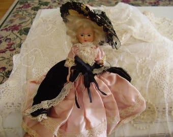 "Vintage Celluloid 8"""" Doll"