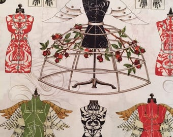 Dresses from Angel Band by J Wecker-Frisch for Quilting Treasures