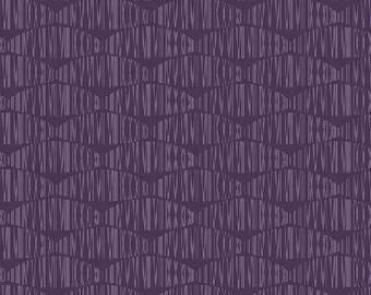 Geo Stripes in Purple from Stof of Denmark