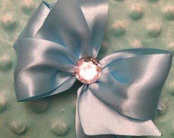 Cinderella Disney Princess toddler size blue hair bow