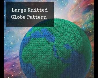 Large Knitted Globe Pattern (PDF)