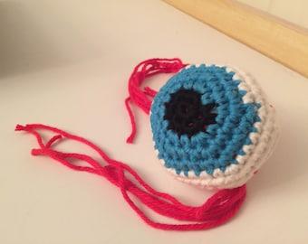 Crochet Amigurumi Eyeball