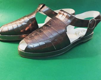 Bronze Vintage shoes , BOCAGE