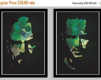 20% OFF SALE Breaking Bad Poster Set featuring Walter and Jesse Set of 2