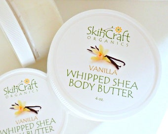 Vanilla Body Lotion - Vanilla Body Butter - Vanilla Moisturizer - Buttercream Body Cream - Spa Gift -  Birthday Gift for Her - 4 oz