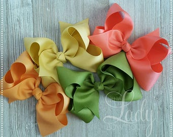 Ch.5~Hair-bows made to match Matilda Jane- The adventure begins~Hair-bow bundle~hair-bows for girls~baby bows~boutique hair-bows~jumbo bows-