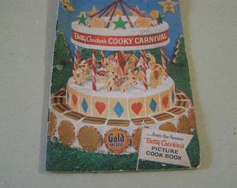 50's Betty Crocker's cookie carnival cookbook
