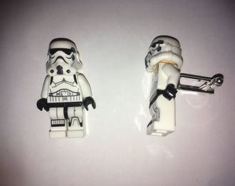 Star Wars Minifigure Cufflinks - Storm Trooper