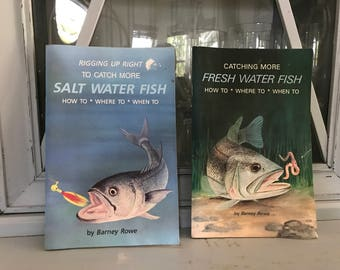 2 Vintage How To Fishing Books