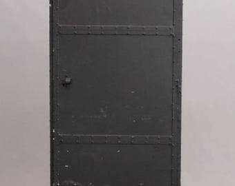 Vintage Industrial Steel Locker