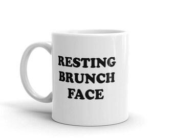 Resting Brunch Face Mug