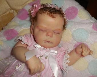 Reborn Esme by Cassie Brace  Slumberland mohair Lovely!