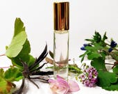 Heliotrope Perfume Roll On With Almond Vanilla, Fragrance for Her, 3 ml,  Gift set, Natural Perfume, Botanical Perfume