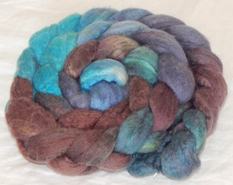 Merino Silk 50/50 Fiber, Following in Your Footsteps 4.8 ounces, 136 grams