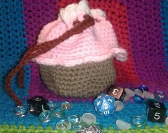 Cupcake dice bag