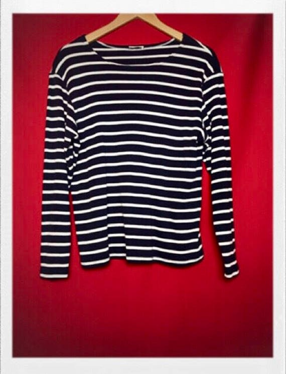 Vintage Women's Striped Top