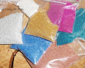 1 x bag of microbeads, choice of color