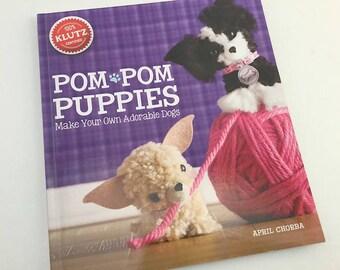 Pom Pom Puppies, Pom Pom Craft, Pom Pom Dogs, Mini Dogs, Make Your Own, Pomeranian, Pug, Craft Book, Pom Pom Crafts, Klutz, Chihuahua,
